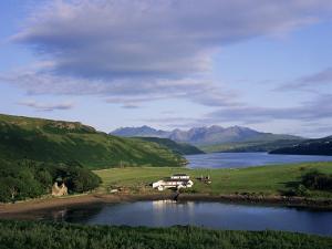 Loch Harport and the Cuillin Hills, Isle of Skye, Highland Region, Scotland, United Kingdom by Roy Rainford
