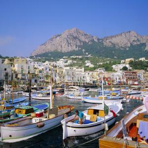 Marina Grande, Capri, Campania, Italy by Roy Rainford