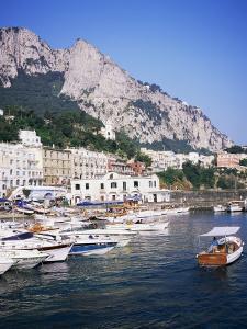 Marina Grande, Island of Capri, Campania, Italy, Mediterranean by Roy Rainford