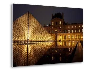 Musee Du Louvre and Pyramide, Paris, France
