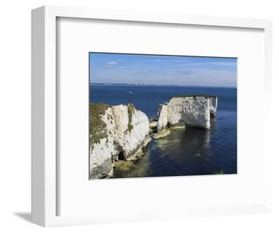Old Harry Rocks at the Foreland (Handfast Point), Poole Harbour, Isle of Purbeck