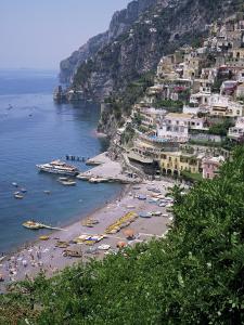Positano, Costiera Amalfitana, Unesco World Heritage Site, Campania, Italy by Roy Rainford