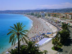 Promenade Des Anglais, Nice, Cote d'Azur, Alpes-Maritimes, Provence, France, Europe by Roy Rainford