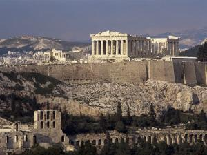 The Acropolis, Unesco World Heritage Site,Athens, Greece by Roy Rainford