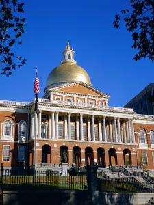 The State House, Boston, Massachusetts, New England, USA by Roy Rainford