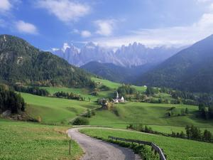 Val Di Funes, Trentino-Alto Adige, Dolomites, South Tirol, Italy by Roy Rainford