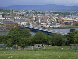 View Over Londonderry, County Derry, Northern Ireland, United Kingdom by Roy Rainford