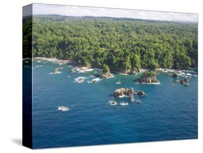 Aerial View of Costa Ricas Osa Peninsula Coastline