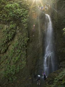 King Louie Waterfall, Osa Peninsula, Costa Rica by Roy Toft
