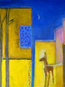 Deer in the City, 2011 by Roya Salari