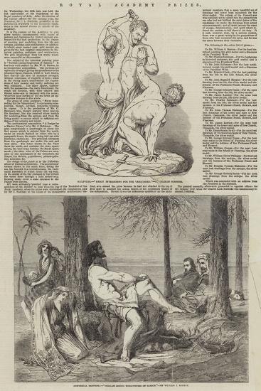 Royal Academy Prizes--Giclee Print