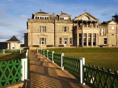 Royal and Ancient Golf Club, St. Andrews, Fife, Scotland, United Kingdom, Europe-Mark Sunderland-Photographic Print