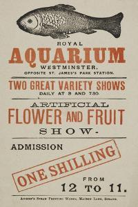 Royal Aquarium, Westminster ... Two Great Variety Shows Daily ... Artificial Flower and Fruit Show
