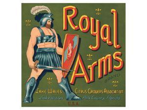Royal Arms Brand Citrus