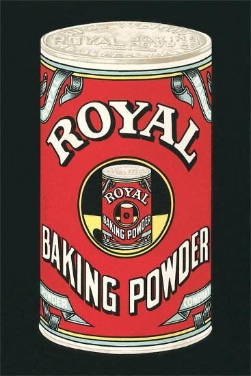 Royal Baking Powder Can--Art Print