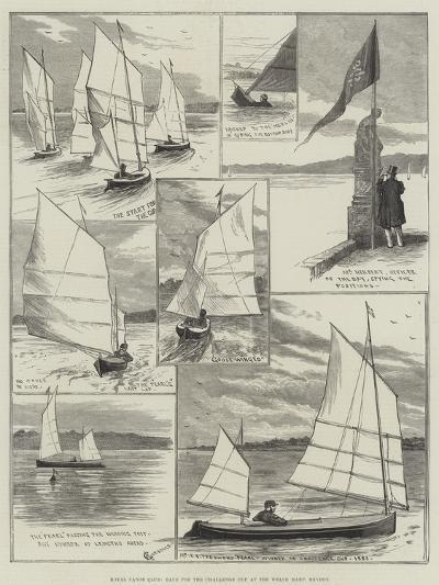 Royal Canoe Club, Race for the Challenge Cup at the Welsh Harp, Hendon-Alfred Courbould-Giclee Print