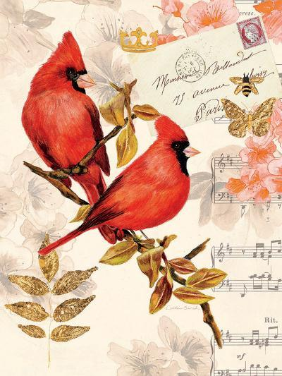 Royal Cardinals-Colleen Sarah-Art Print
