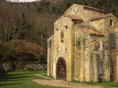 Royal Chapel of Summer Palace of Ramiro I, at San Miguel De Lillo, Oviedo, Asturias, Spain-Westwater Nedra-Photographic Print