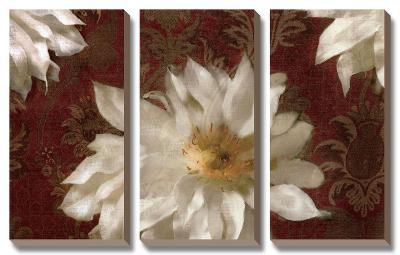 Royal Clematis II-Janel Pahl-Canvas Art Set