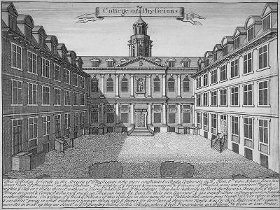 Royal College of Physicians, City of London, 1700--Giclee Print