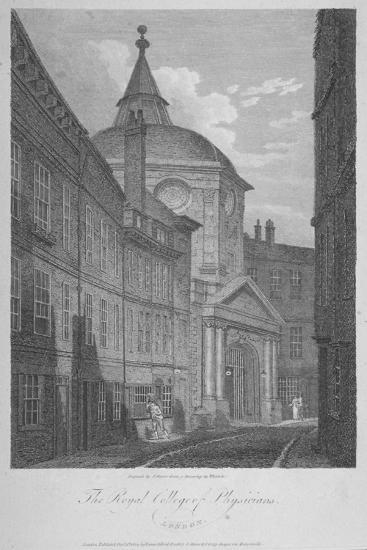 Royal College of Physicians, City of London, 1804-James Sargant Storer-Giclee Print
