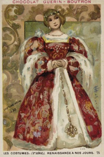 Royal Dress, 1530--Giclee Print