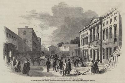 Royal Dublin Society's Exhibition of Irish Manufactures--Giclee Print