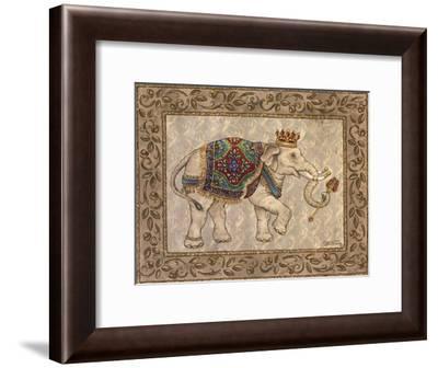 Royal Elephant I-Janet Kruskamp-Framed Art Print