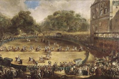 Royal Equestrian Parade, Aranjuez, Spain-Luis Paret y Alcazar-Art Print