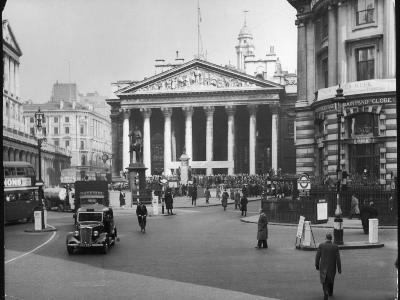 Royal Exchange 1950s--Photographic Print