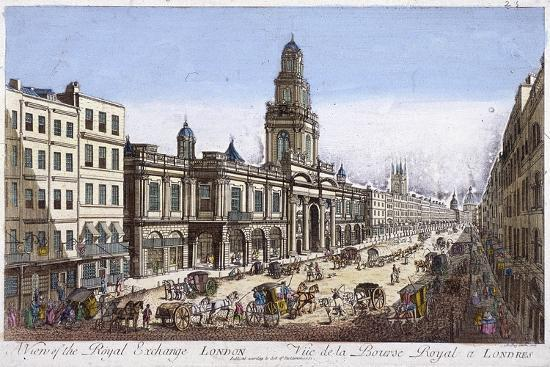 Royal Exchange (2N) Exterior, London, 1761-Mothey Lairee-Giclee Print