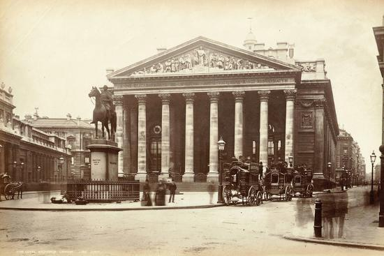 Royal Exchange, London, C.1885--Photographic Print