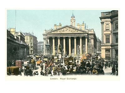 Royal Exchange, London, England--Art Print