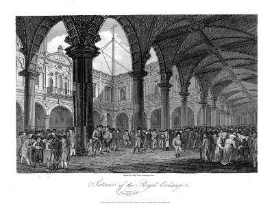 Royal Exchange, London, Late 18th Century--Giclee Print