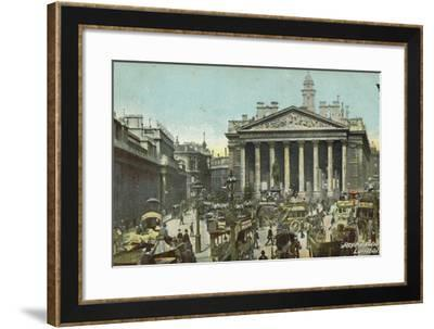 Royal Exchange, London--Framed Photographic Print