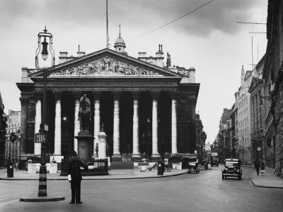 Royal Exchange, London--Photographic Print