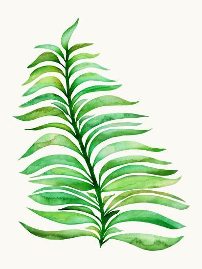 Royal Fern-Modern Tropical-Art Print