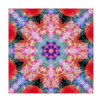 Royal Flower Mandala-Alaya Gadeh-Art Print
