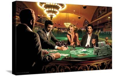 Royal Flush-Chris Consani-Stretched Canvas Print