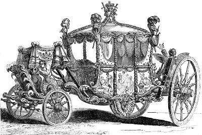 Royal Gold State Coach, 19th Century--Giclee Print