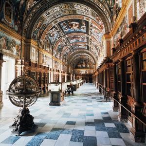 Royal Library of Monastery of San Lorenzo De El Escorial (St Lawrence of El Escorial)