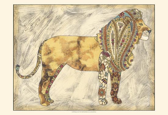 Royal Lion-Chariklia Zarris-Art Print