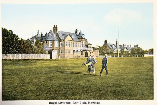 Royal Liverpool golf club, Hoylake, c1910-Unknown-Giclee Print