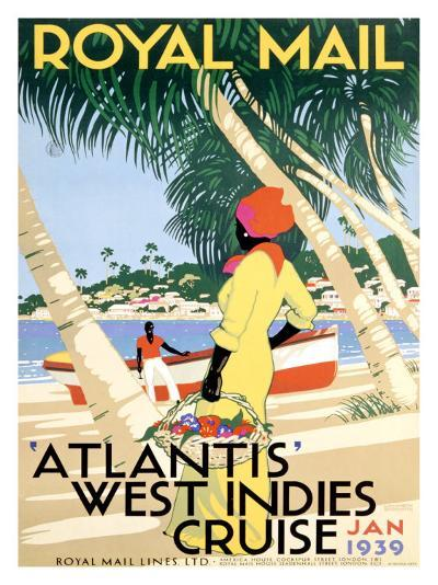 Royal Mail, West Indies--Giclee Print