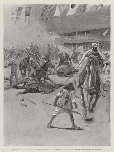 Royal Military Tournament at the Agricultural Hall-Henry Charles Seppings Wright-Giclee Print