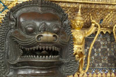 Royal Monastery of Emerald Buddha, Grand Palace, Wat Phra Keo, Bangkok, Thailand-Cindy Miller Hopkins-Photographic Print