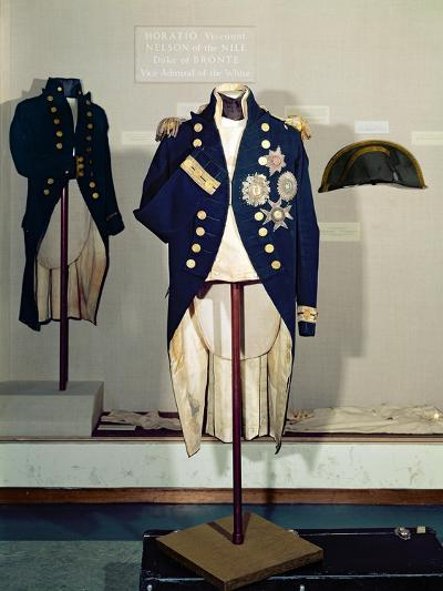Royal Naval Uniform Worn by Nelson at the Battle of Trafalgar in 1805--Giclee Print
