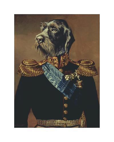 Royal Officer-Thierry Poncelet-Premium Giclee Print