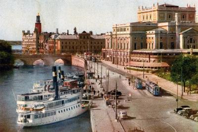 Royal Opera House, Stockholm, 20th Century--Giclee Print