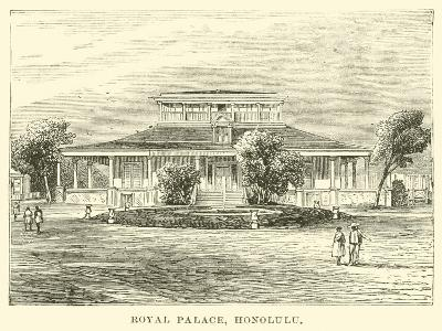 Royal Palace, Honolulu--Giclee Print